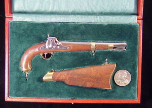 Armstrong 1855 pistol carbine KW-238-1