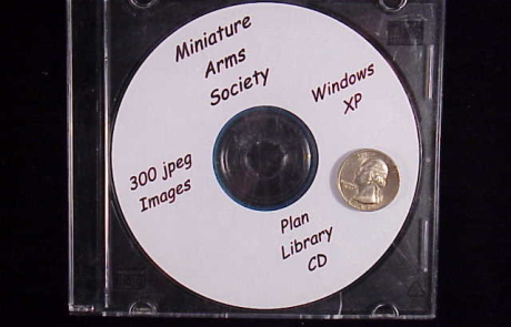 Miniature firearms plans CD