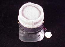 gray black kepi cap-1