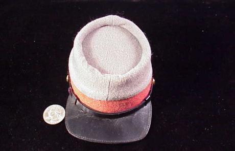 orange kepi cap-1
