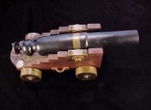 Miniature breech loading 12 gauge ships cannon-1