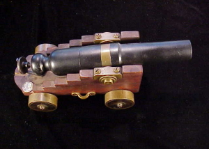 Miniature breech loading 12 gauge ships cannon-1