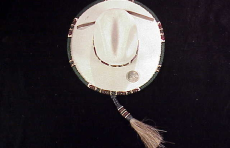 Rands Tom Horn beaded cowboy hat-1