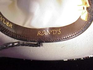 Rands Tom Horn beaded cowboy hat-5