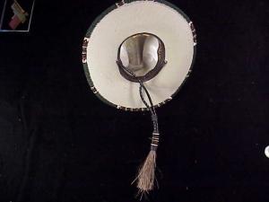 Rands Tom Horn beaded cowboy hat-8