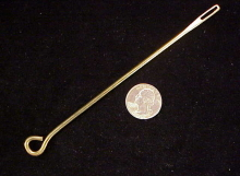 Brass cleaning rod for Uberti Colt SAA-1