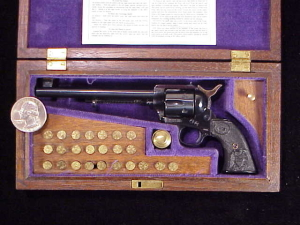 Farrand Colt SAA Flattop 1834-1