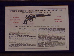 Farrand Colt SAA Flattop 1834-10