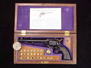 Farrand Colt SAA Flattop 1834-2