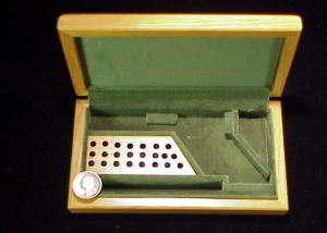 Uberti oak casing for Colt SAA-1