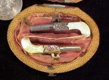Antique muff pistol pair 3-1