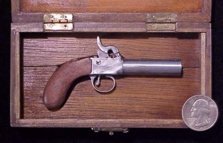 Elkas 1872 Single Shot Percussion Pistol-1