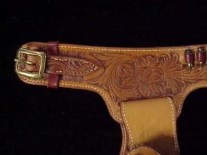 Tad Mizwa brown double holster rig-3