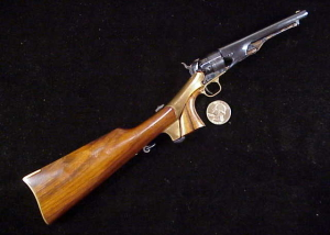 Uberti 60 Army with shoulder stock FF-1 323-1
