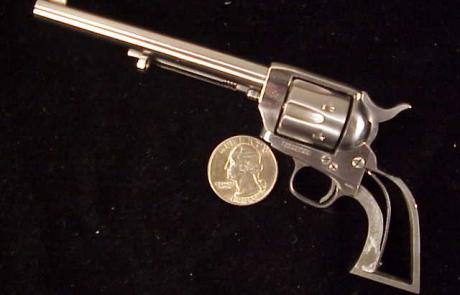 Uberti Colt SAA engraver's special BO18-1