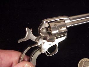 Uberti Colt SAA engraver's special BO18-3