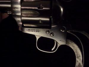 Uberti Colt SAA engraver's special BO18-9