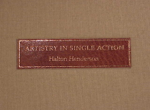 Artistry in Single Action book-4