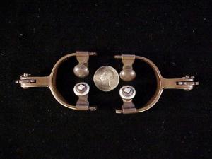 Antique child spurs w silver-3