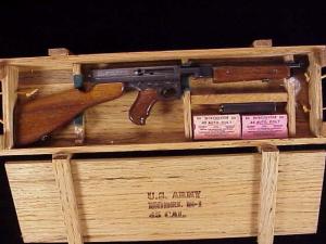 Miniart .25 Thompson M-1 017-34