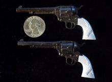 Pair of Marx Colt SAA cap pistols-1