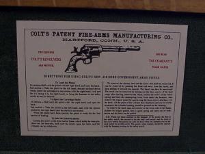 Uberti Colt SAA HR grip 3099-27