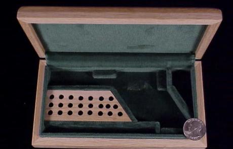 Uberti SAA oak casing-1