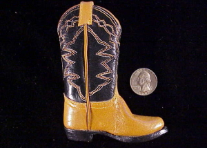 Unknown single miniature boot-1