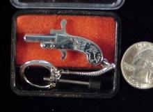 Franz Pfannl 2mm Berloque pinfire keychain Urso A5b-1