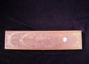 Miniart 3rd 94 Win trapper carved cat case-1