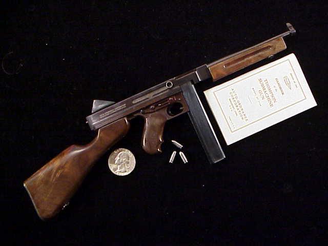 Wayne Driskill Miniature Firearms – Categories – Thompson SMG's