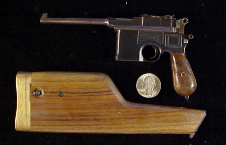 Miniart small ring broomhandle Mauser 009-1