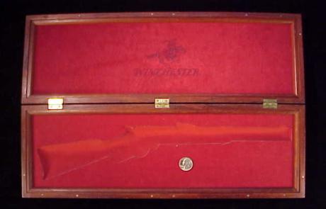 Uberti 66 carbine mahogany case-1