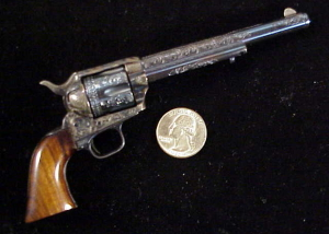 Uberti Colt SAA, engraved 384-1